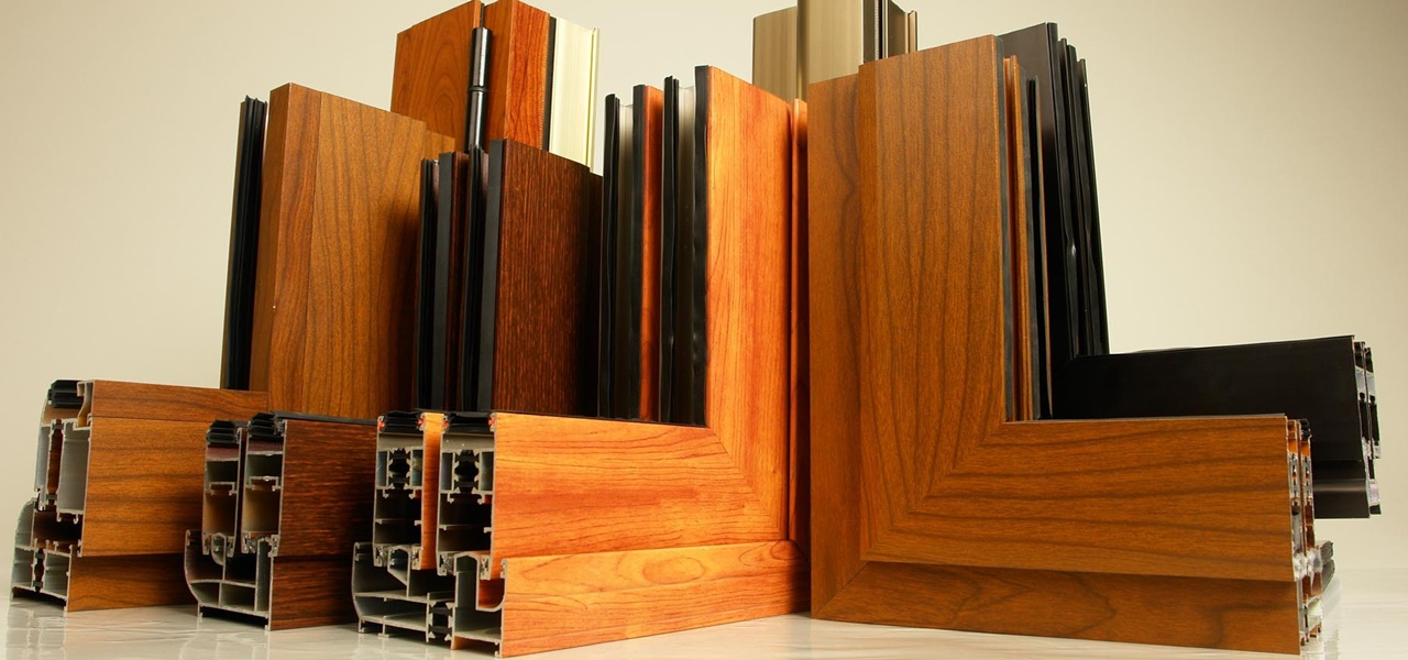 Kusen Motif kayu